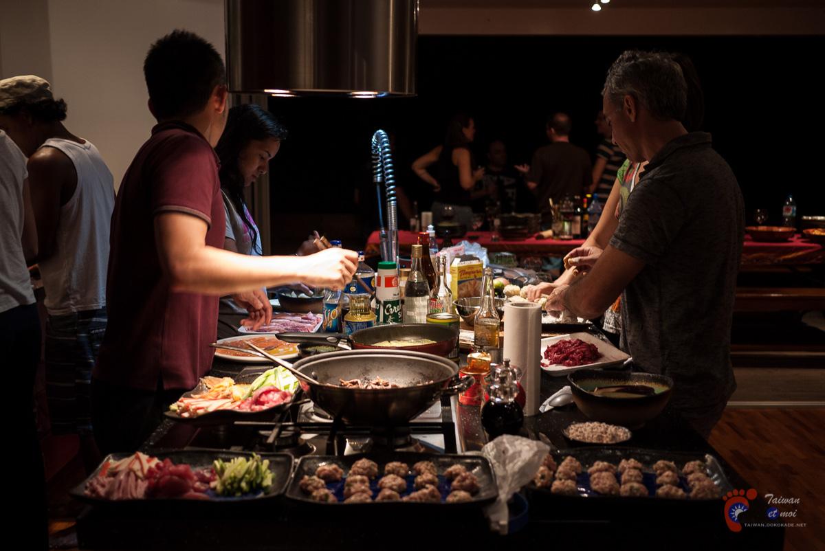 Premier dîner... japonais