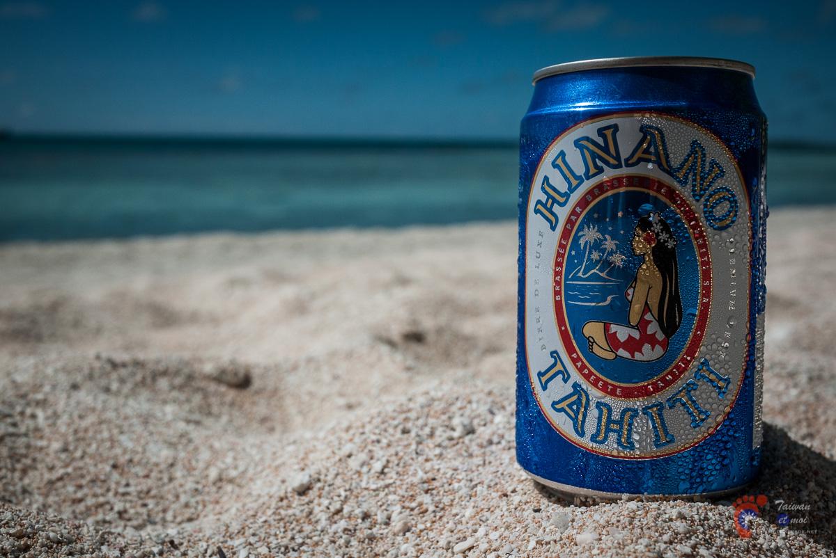 Bière Hinano - Atoll de Tikehau