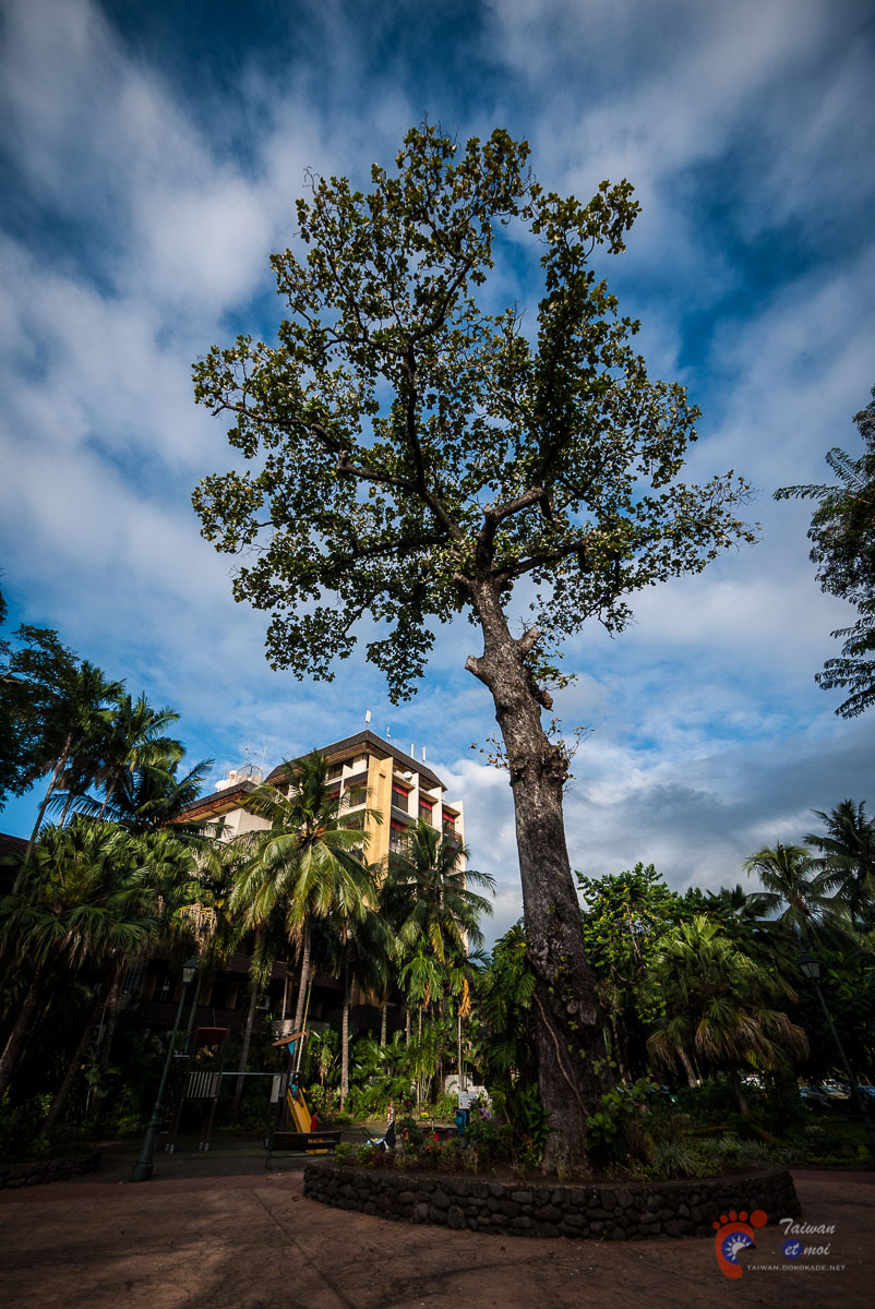 Parc de Bougainville - Tahiti