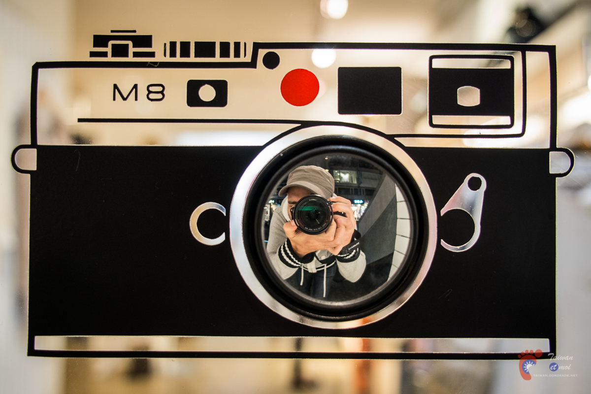 In the eye of the camera