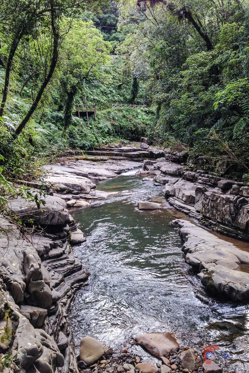 Rivière Jingualiao vers Pinglin