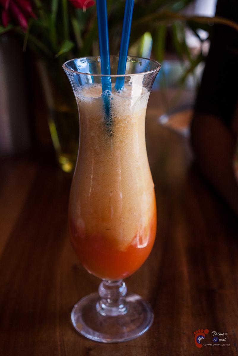 Cocktail de fruits frais - Moorea