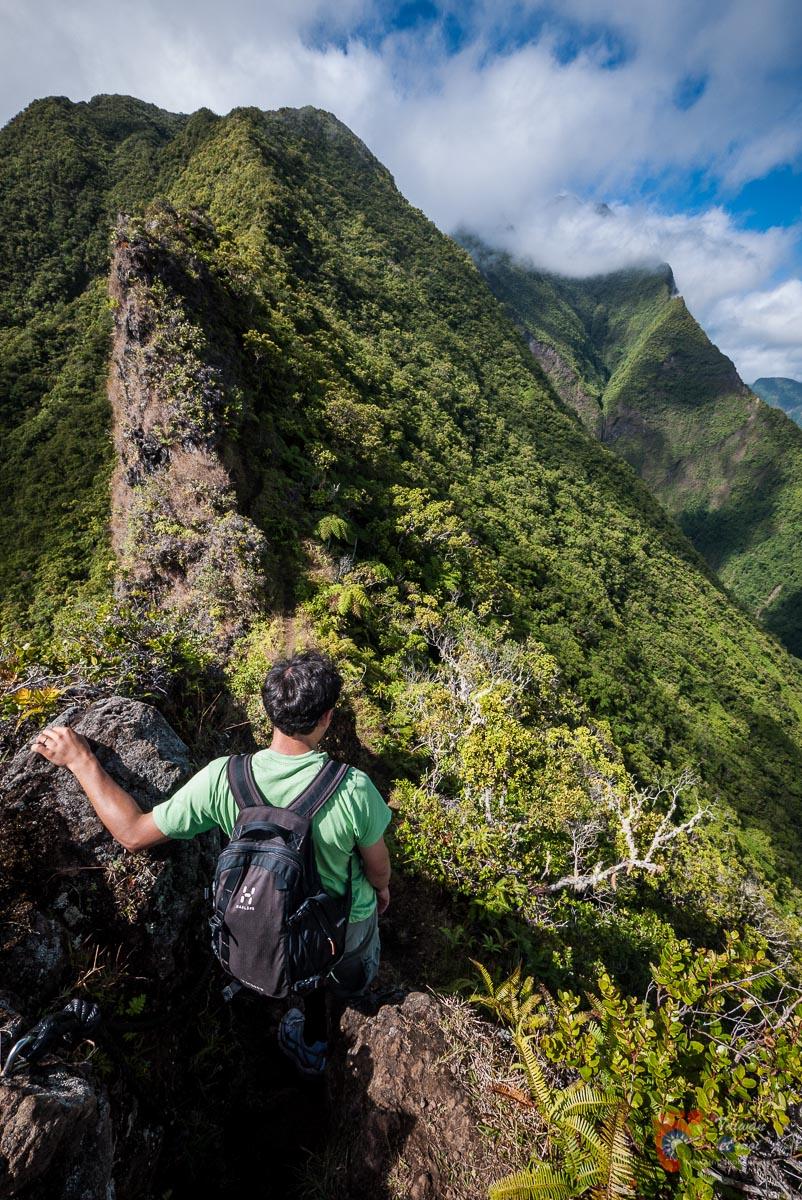 Rando de l'Aorai - Tahiti