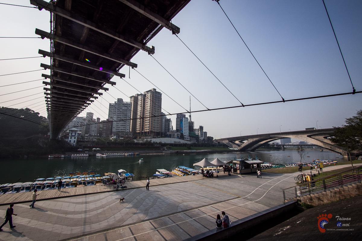 Bitan et son pont suspendu