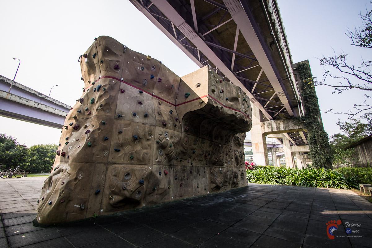 Mur d'escalade à Taipei